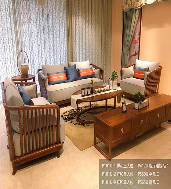 大理客厅红木家具