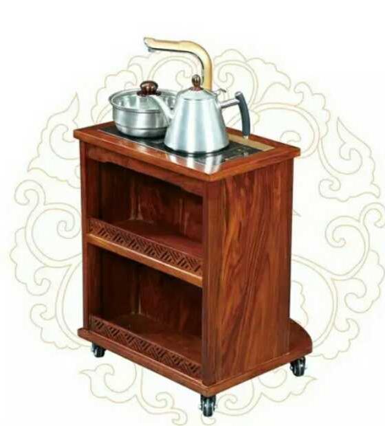 半圆形茶水车