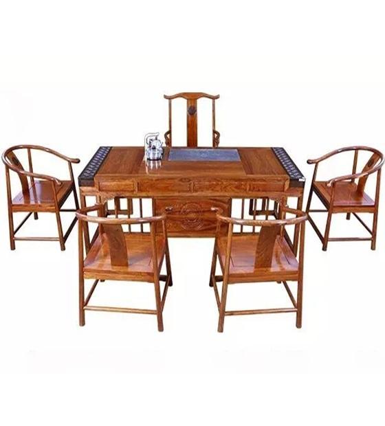 大家风范红木茶桌