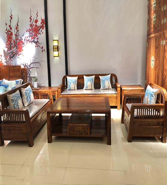 红木休闲沙发