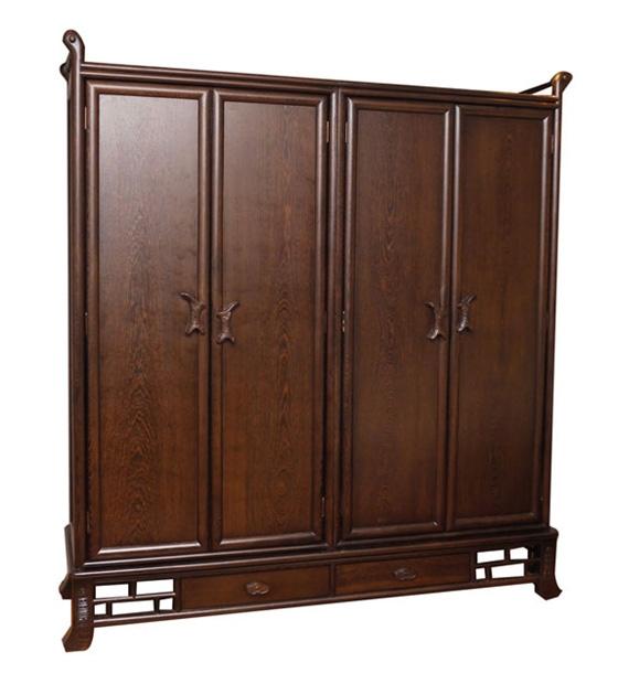 鸡翅木衣柜