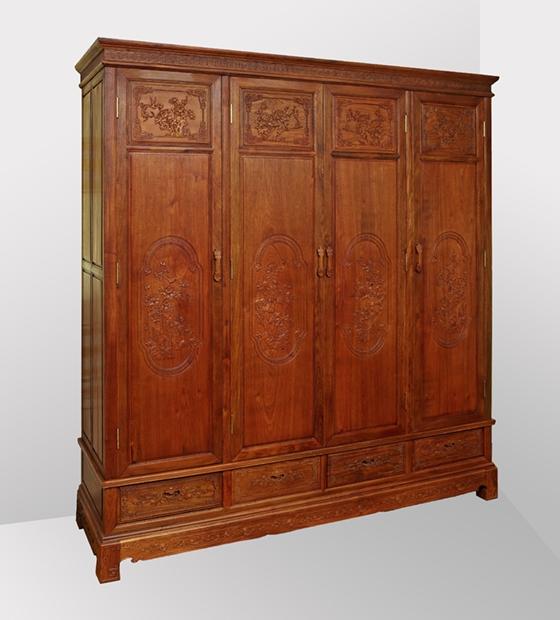 缅甸花梨木衣柜