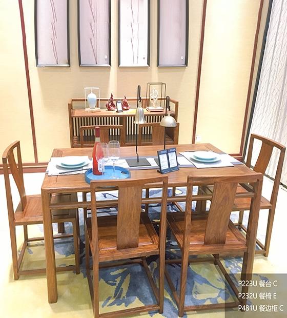 大理红木餐桌
