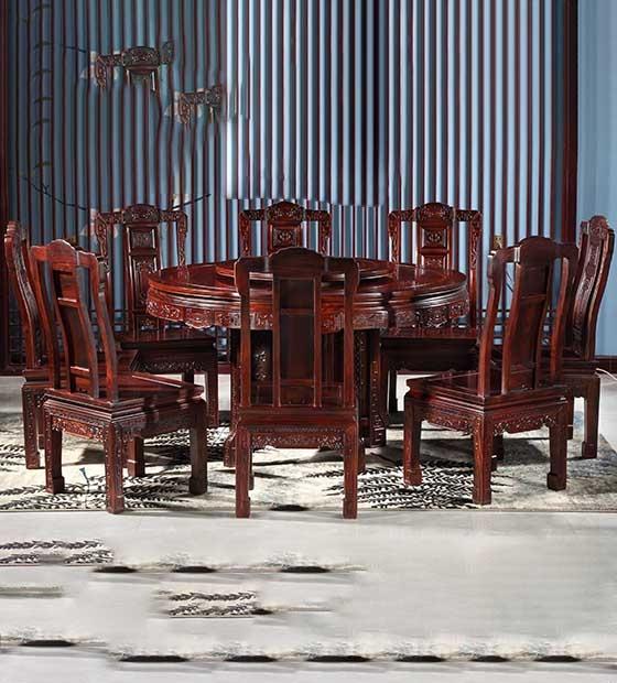 高档红木餐桌