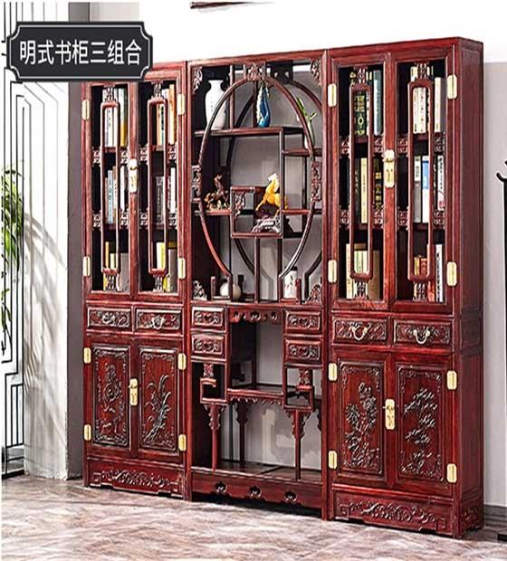 定制红木酒柜