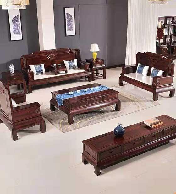 客厅红木家具定制