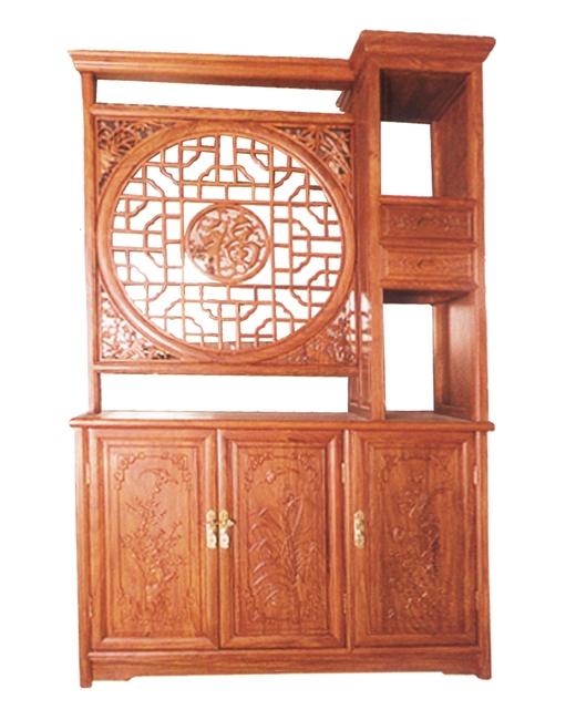 福字隔厅柜